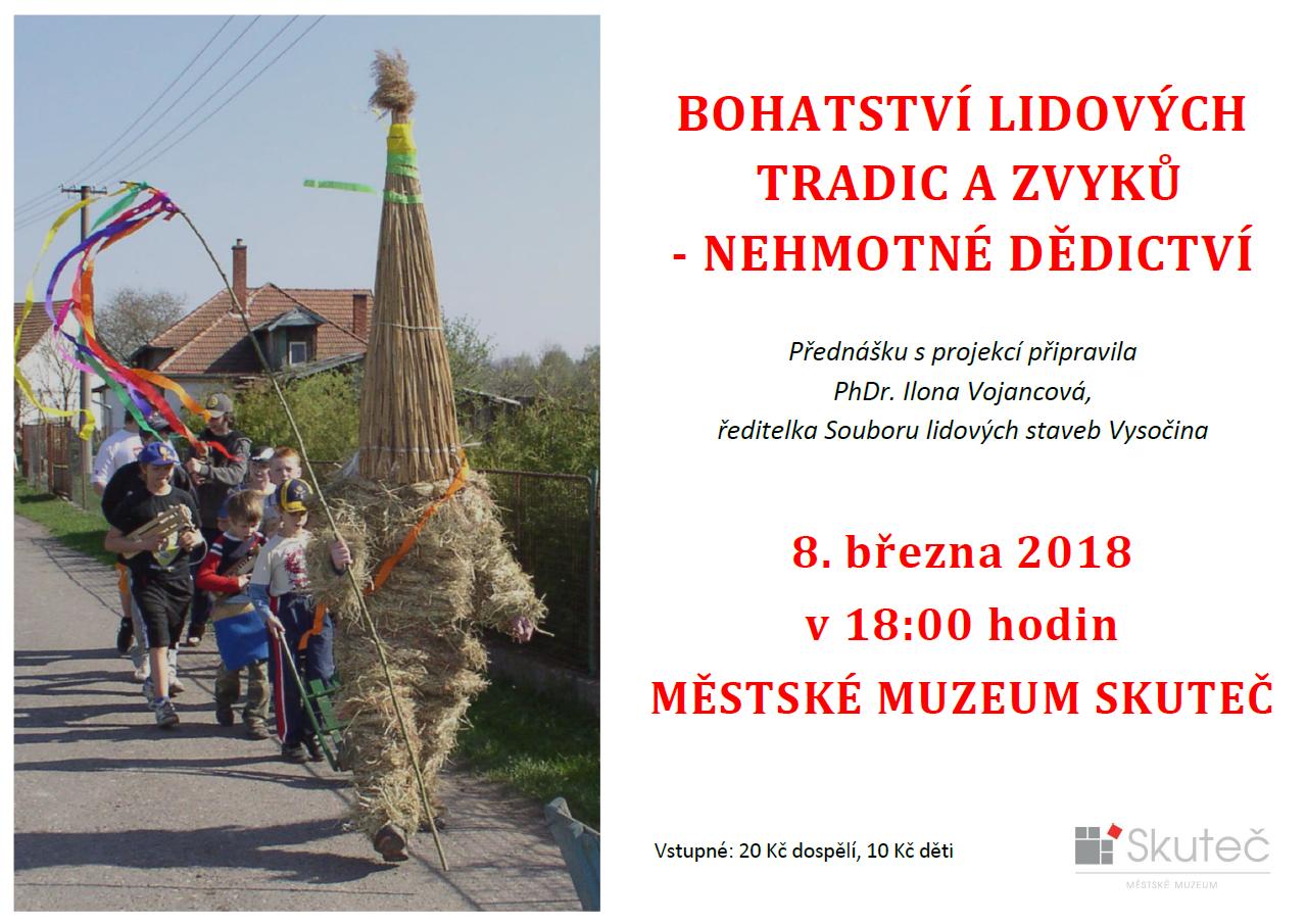 Přednáška: Bohatství lidových tradic a zvyků – nehmotné dědictví 1