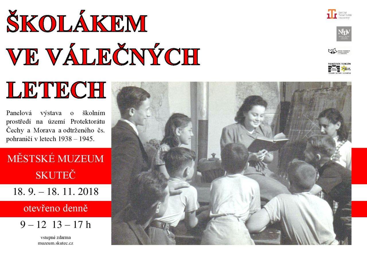 Výstava: Školákem ve válečných letech